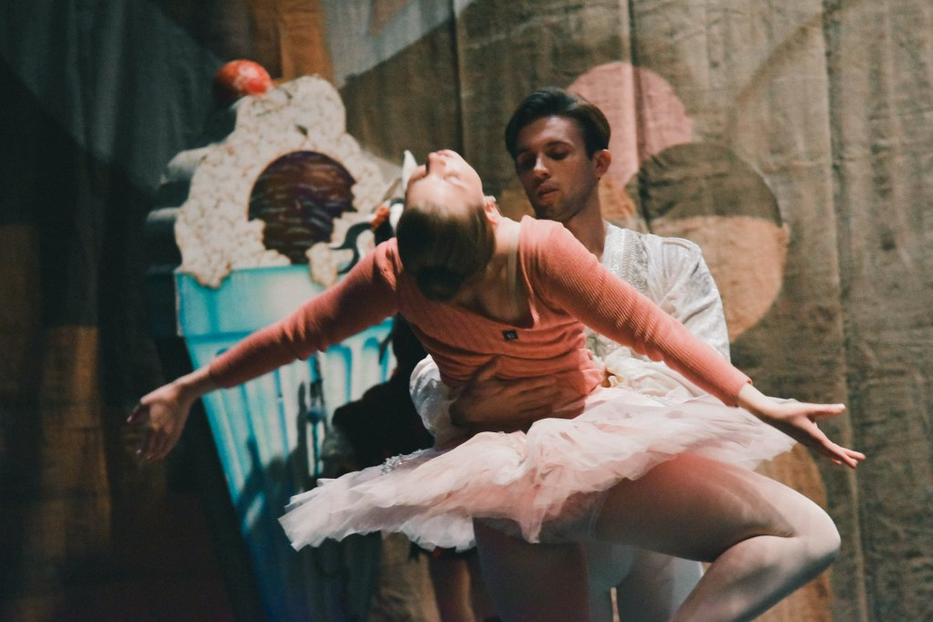 The Sugarplum Fairy & The Cavalier Rehearsal, Massari-Wood Dance's The Nutcracker by Hannah Stuart, 2017