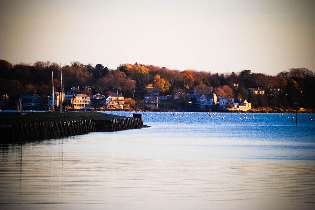 Salem Harbor, Salem, MA by Hannah Stuart, 2015