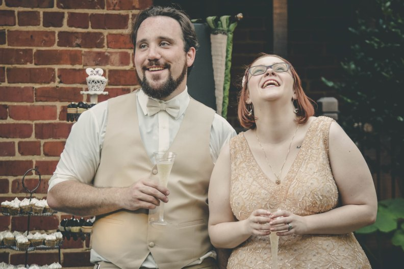 Countryman Wedding, Edgar Allan Poe Museum, Richmond VA by Hannah Stuart, 2017